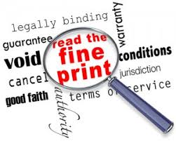 Contractual Terms & Conditions