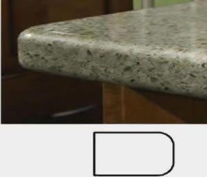 1 4 Round Top Amp Bottom Atlanta Granite For Less